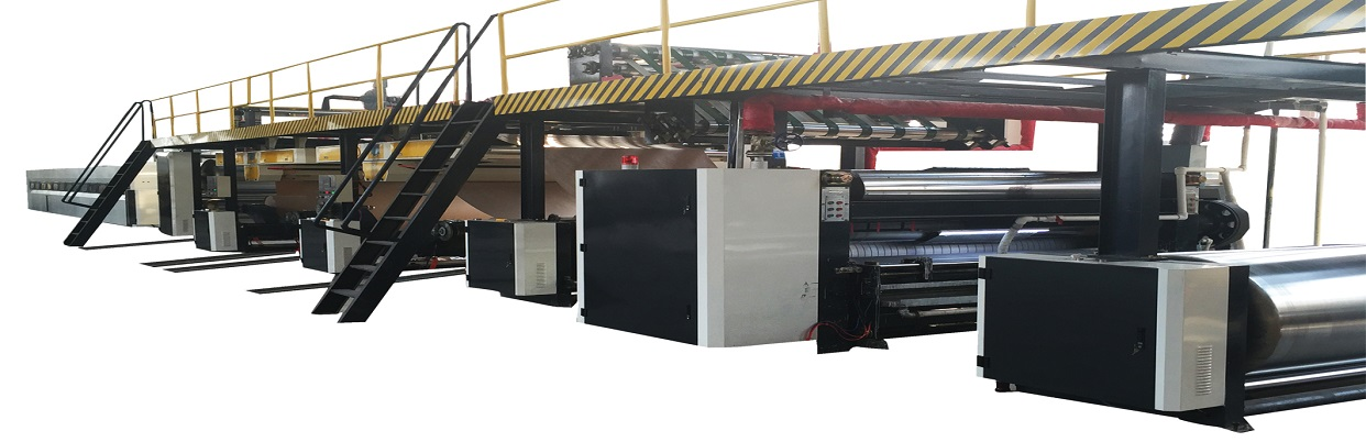 2 ply corrugated production line